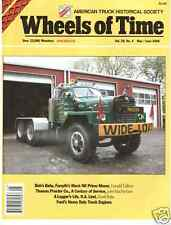 MACK Prime mover, Log trucks, 58 Ford engine, Firestone Ship by Truck campaign