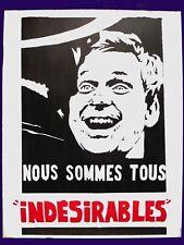 Affiche originale Mai 68