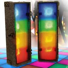 Retro Disco Lighting 70's 80's Colour Light Boxes New Tech LED Sound to Light
