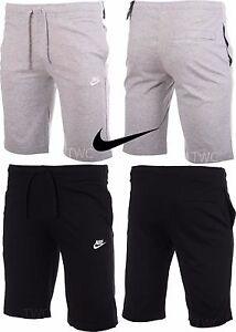Nike Boys Shorts Cotton Kids Junior Jr Jersey Casual Gym Sports Knee Length PE