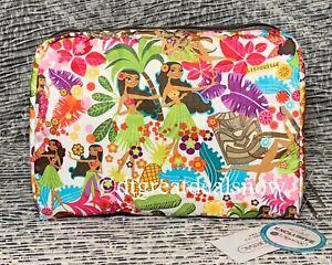 LeSportsac Extra Lg Rectangular Cosmetic Bag Hawaii Exclusive 7121 K168 Wahine