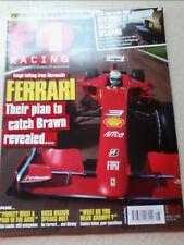 F1 Racing Revista De Agosto De 2009