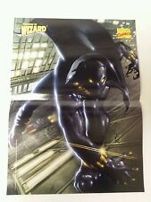 Wizard Comic Book Magazine 2 Sided Poster Black Panther + Gen 13 1998