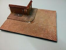 1/35 Scale Diorama Base No.6 - Cobbled street and pavement 250mm x 200mm