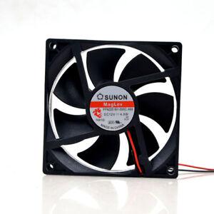 1pc SUNON PF92251B1-000C-A99 9225 9.2CM 12V 4.7W  2-wire Inverter Fan