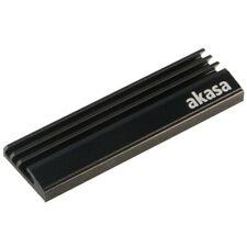 Akasa M.2 SSD Aluminium Heatsink - Passive Cooling Kit for SSD
