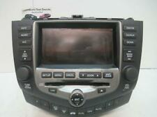 HONDA ACCORD RADIO/ SAT NAV HEAD UNIT, 7TH GEN, EURO for rerplacement type only