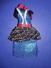 Monser High Doll ClothesGhouls Night Out Ghoulia Yelps Outfit Dress