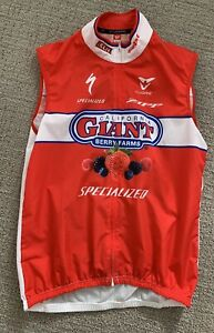 Cuore Cycling Vest - California Giant, Specialized - Size Medium, Full Zip