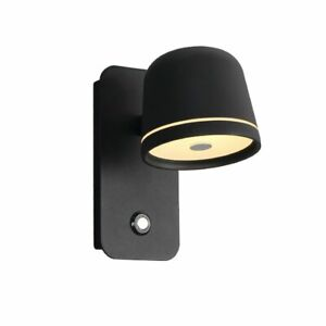 LED Wall Lamp Reading Lighting Bedside Bedroom Dimmable Switch Wall Lights