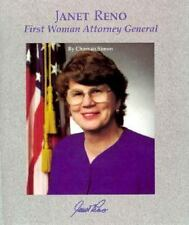 Janet Reno: First Woman Attorney General (Picture Story Biography)