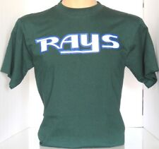 Tampa Bay Devil Rays Majestic  T-Shirt Green MLB Size Youth XL  NWOT