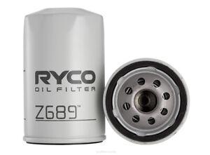 Ryco Oil Filter Z689 fits Holden Rodeo RA 3.6 i (TFR27), RA 3.6 i (TFS27), RA...