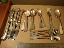 lot of 25 Oneida 1881 Rogers First Colony silverware forks knives spoons