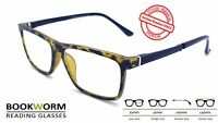 Large Strong Wayfarer Reading Glasses Designer Retro Mens Womens Ladies
