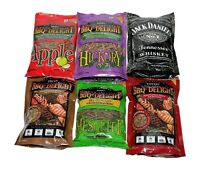 BBQrs Delight Wood Smoking Pellets - Super Smoker Variety Value Pack - 1 Lb Bags