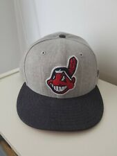 New Era MLB Cleveland Indians Fitted Cap  7 3/8