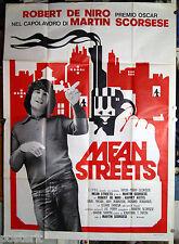 manifesto 4F film MEAN STREETS Robert De Niro Harvey Keitel Martin Scorsese 1976