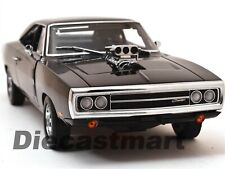 """DOM'S 1970 DODGE CHARGER """"FAST & FURIOUS"""" 1:18 DIECAST MODEL BY GREENLIGHT 19027"""