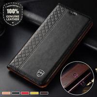Magnetic Genuine Leather Flip Case For Sony Xperia XZ3 XA3 Ultra XZ2 Premium L3