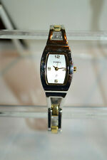 Fossil Ladies Two Tone Stainless Steel Wristwatch_New Battery ES-9382