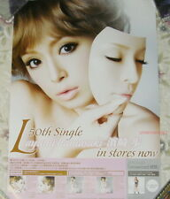 Japan IDOL Ayumi Hamasaki L Taiwan Promo Poster (Ver.A)