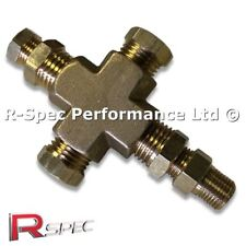 Multi Oil Temp / Pressure Gauge Sensor Adaptor For VW Golf VAG Audi 1.8T 20V