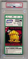 1998 NBA Finals Bulls vs Jazz GM 5 Ticket Stub PSA 2 M. Jordan Last UC Game #009