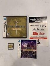 Fire Emblem: Shadow Dragon (Nintendo DS, 2009) Complete Authentic