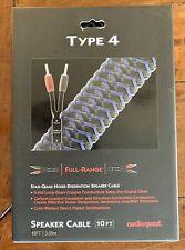 AudioQuest - NEW - Type 4 HyperLitz Speaker Cable - 10 Ft. Pair - 50% OFF Retail