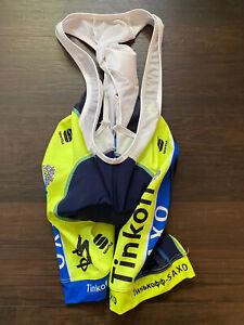 Sportful Bodyfit bib shorts Tinkoff Saxo Sagan yellow tour