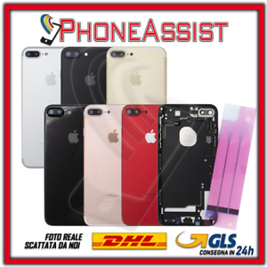 TELAIO SCOCCA POSTERIORE + FLEX Per Apple iPhone 7 Plus BACK GLASS COVER HOUSING