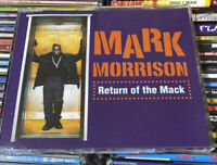 MARK MORRISON - Return Of The Mack1996 CD Single - Excellent Cond - Free UK Post