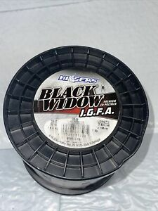 Hi-Seas Black Widow Co-Polymer Line, 3 Color Camouflage, 30 Pound Test, BWT-1-15