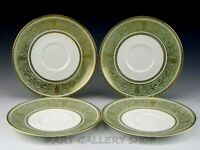 Wedgwood England ENGLISH RENAISSANCE H.4972 SAUCERS ONLY NO CUPS Set of 4
