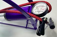 Foot Operated Air Pump For Ball Bike Bicycle Tire Inflator Inflatable Mattress