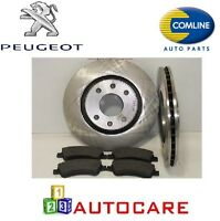 Front Brake Discs And Pads For Peugeot 307 1.4,1.6 + HDI
