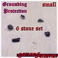 Grounding Protection Healing Gemstone Kit Set of 6 10mm SMALL Stones