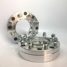 "2X Wheel Adapters ¦ 6x5.5 to 8x6.5 6x139.7 to 8x165.1 ¦ 14X1.5 ¦ 2 INCH 2"" 50MM"