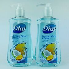 2-Pack Dial Coconut Water & Mango Hydrating Hand Soap 7.5 Fl.oz New