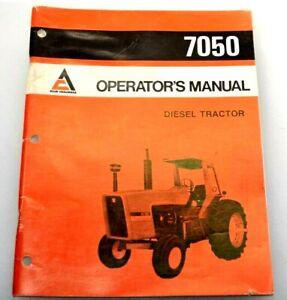 1974 ALLIS CHALMERS 7050 DIESEL TRACTOR Original OPERATORS MANUAL Book Guide