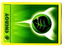 POKEMON BASE English SHADOWLESS CARD N°  99/102 GRASS ENERGY