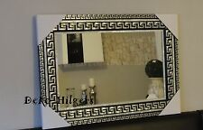Spiegel Groß Wandspiegel Barock Art Medusa Badspiegel Dekoration Deko 50X70 SS