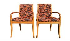 Pair of Armchairs in the Style of Robsjohn-Gibbings Mid Century Style