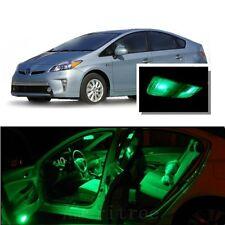 For Toyota Prius 2009-2014 Green LED Interior Kit + Green License Light LED