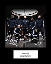 Sidemen KSI #2 10x8 SIGNED Mounted Photo Print - FREE DELIVERY