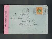 1941 Dublin Ireland Censored Cover to Montreal Canada