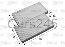 Dodge Nitro Jeep Liberty Cherokee Particulate Cabin Air Filters x2 VALEO 2007-