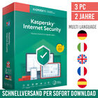 Kaspersky Internet Security 2021 - 3 Geräte - 2 Jahre - inkl. Antivirus <br/> kostenloser Support✔ DE-Händler✔ Anleitung✔ Rechnung✔