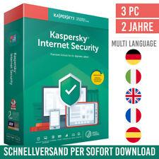 Kaspersky Internet Security 2021 - 3 Geräte - 2 Jahre - inkl. Antivirus